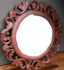 Mirror Wooden Frame Designs - Interior Design
