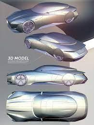 Jaguar E Luxury Concept On Behance Concept Car Sketch Car Design Sketch Jaguar E