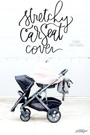 car seats baby car seat cover patterns stretchy pattern free see sew tutorial diy