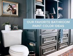 bathroom paint colors ideasOur Favorite Bathroom Paint Color Ideas  Domino