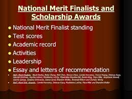 senior scholarship program ppt video online  national merit finalists and scholarship awards