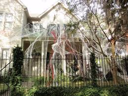 child friendly halloween lighting inmyinterior outdoor. Celebrate Archives Titan Fence Decorations Scary Fake Spider Web Area With White. Exterior Home Design Child Friendly Halloween Lighting Inmyinterior Outdoor