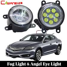 2013 Acura Ilx Fog Light Cawanerl For 2013 2016 Acura Ilx Car Led Bulb Fog Light Angel Eye Daytime Running Light Drl 12v High Bright 2 Pieces