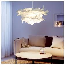 crumple white pendant lamp lighting. IKEA KRUSNING Pendant Lamp Shade Crumple White Lighting C