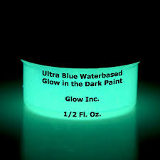 glow in the dark paint for wallsAmazoncom Ultra Blue Glow in the Dark Paint 12 Fluid Ounce