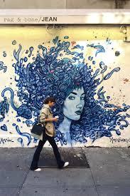 Wall 21 : Rag & Bone mural (current mural by Marc Evan)
