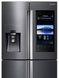 samsung tv refrigerator. samsung-fridge-detail-black-steel-all-screens-tv- samsung tv refrigerator g