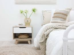 No Room For Bedside Table Images - Table Design Ideas
