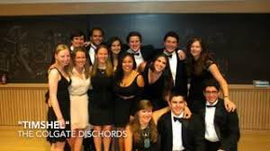 """""""Timshel"""" by The Colgate Dischords (Feat. Rachel Brown, Annie Gaburo, and Wesley  Gross) - YouTube"""
