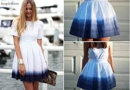 diy ellery inspired dip dye skirt