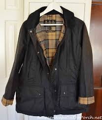 The Barbour Beadnell Waxed Jacket, The Forever Coat & Barbour Beadnell Wax Jacket in Navy & Barbour Tartan Lining Adamdwight.com