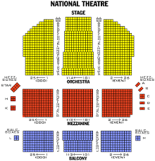 National Theater Seating Chart View Theater Tickets Washington Dc City Of Harrisonburg