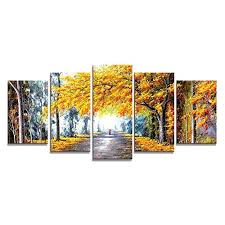 <b>Landscape Canvas</b> Oil <b>Painting</b>: Amazon.co.uk
