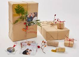 Image result for personalised gift wrap diy