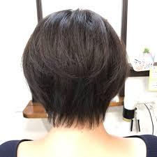 橋本 諒大さんのヘアスタイル 前下がりショートボブカラーは