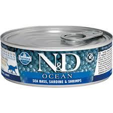 <b>Консервы Farmina N&D Adult</b> Cat Ocean Sea bass, Sardine ...