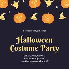 Customize 3 999 Halloween Party Invitation Templates Online Canva