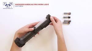 Energizer Hard Case Led Work Light Energizer Hardcase Pro Work Light Torch Led Unboxing