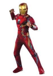 Great Boys Civil War Iron Man Deluxe Costume