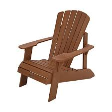 adirondack chairs.  Chairs Lifetime Faux Wood Adirondack Chair Brown  60064 Throughout Chairs Amazoncom