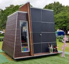 Another very modern cubby house design. Enter our competition to win $200  by posting a