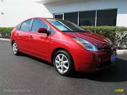 2009 Toyota Prius Hybrid Touring in Barcelona Red Metallic ...