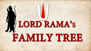 Mahabharata Family Tree Chart Pdf In Hindi Lord Ramas Family Tree Genealogy Of Surya Vansh Ramayana
