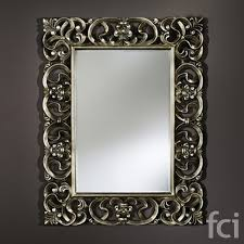 baroque wall mirror by reflections