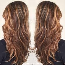 Brown Hair Color Caramel Highlights Caramel