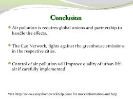 Assignment Service Jacksons Air Pollution Essay Recommendations On