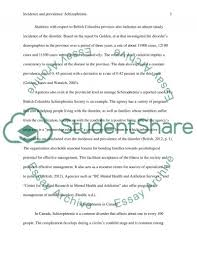 essays on schizophrenia a case study of a schizophrenia patient this essay has been submitted by a student