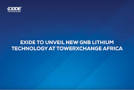 Exide To Unveil New Gnb Lithium Technology At Towerxchange