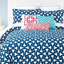 homely design preppy duvet covers blue stripe twin cover by whistle wink