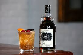 According to fatsecret.com kraken spiced dark rum has 105 calories per 1.5 oz and zero carbs or sugar. Cocktail Of The Month With Kraken Rum Hospitality Review Ni Hospitality Review Ni