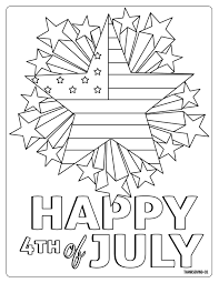 I wanted to make this fourth of july coloring page unique so you could use it all year long, but i think you'll definitely want to print this out for your fourth of july celebrations. 5 Free Fourth Of July Coloring Pages