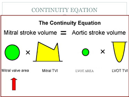 49 continuity eqation lvot area