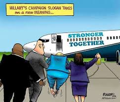 Image result for hillary falling down getting on plane