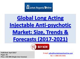 Long Acting Injectable Antipsychotics Chart 2017 2021 Long Acting Injectable Anti Psychotic Market
