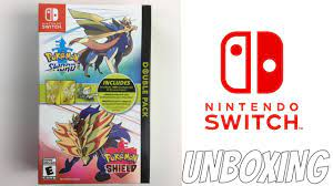 POKEMON SWORD AND SHIELD DOUBLE PACK UNBOXING - YouTube