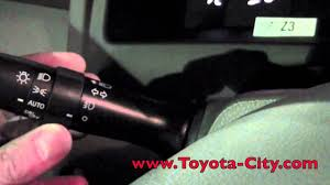 2011 | Toyota | Camry | Fog Light Controls | How To by Toyota City ...
