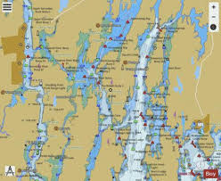 Tide Chart Kennebec River Bath Maine Boothbay Harbor To Bath Kennebec River Marine Chart