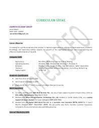 Team Leader Experience Resume It Resume Format Resume Samples For
