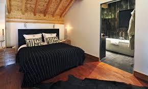 Lodge Bedroom Luxury Ski Chalet In Meribel Book Impala Lodge