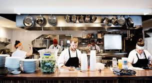 Restaurant kitchen Fancy The Big And Small Of Restaurant Kitchens Washington Post The Big And Small Of Restaurant Kitchens Food Newsfeed