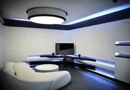 futuristic house interior black and white design of apartment 2 modern i39 design