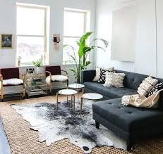 home and furniture fabulous faux hide rug of ivory printed cowhide area world market sophisticated on