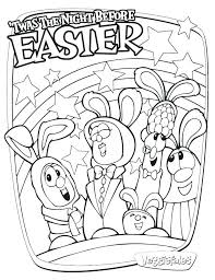 Coloring Pages Veggie Tales Easter Coloring Pages Free Awesome Boy