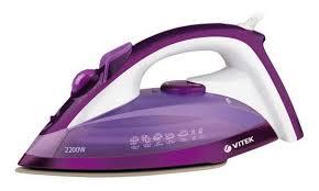 Купить <b>Утюг VITEK VT</b>-<b>1219</b>, фиолетовый в интернет-магазине ...