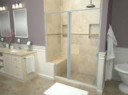 shower pan with bench built in bathroom build red guard kohler