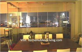friends family house party events frameless door co space creatively served as multi purpose flexible glass room partition for privacy